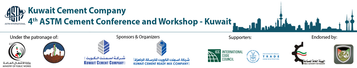 Kuwait Cement Company 4th Annual ASTM Cement Conference and